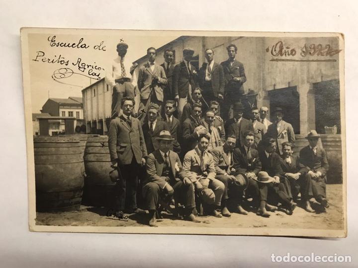 VALENCIA. FOTOGRAFÍA ANTIGUA. ALUMNOS DE LA ESCUELA DE PERITOS AGRÍCOLAS (A.1922) (Fotografía - Artística)