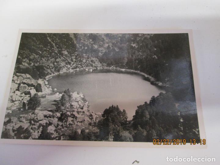 FOTOGRAFÍA AÑOS 50... LAGUNA NEGRA VINUESA SORIA - MEDIDAS 13,5X8,5 CM. (Fotografía - Artística)