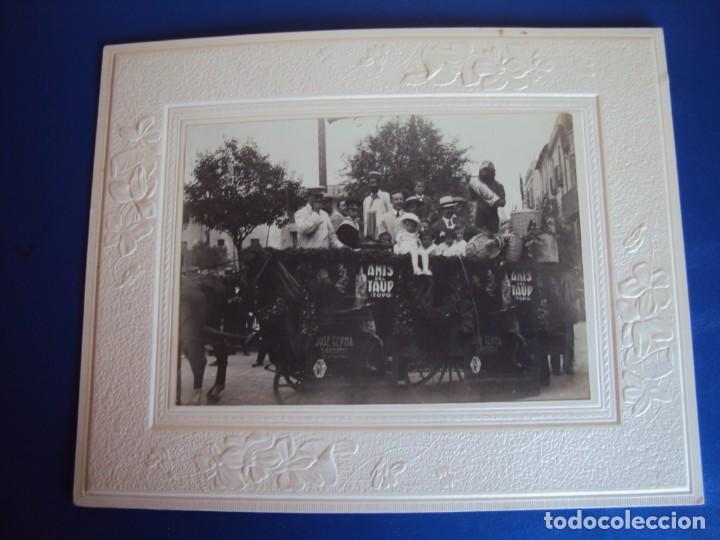 (FOT-190323)FOTOGRAFIA GRAN TAMAÑO CARROZA ANIS TAUP (TOPO) - JOSE GERMA (SABADELL) (Fotografía - Artística)