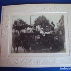 Fotografía antigua: (FOT-190323)FOTOGRAFIA GRAN TAMAÑO CARROZA ANIS TAUP (TOPO) - JOSE GERMA (SABADELL). Lote 156520790
