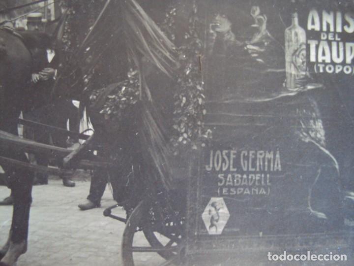 Fotografía antigua: (FOT-190323)FOTOGRAFIA GRAN TAMAÑO CARROZA ANIS TAUP (TOPO) - JOSE GERMA (SABADELL) - Foto 4 - 156520790