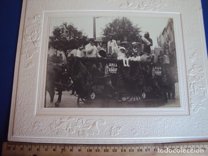 Fotografía antigua: (FOT-190323)FOTOGRAFIA GRAN TAMAÑO CARROZA ANIS TAUP (TOPO) - JOSE GERMA (SABADELL) - Foto 6 - 156520790