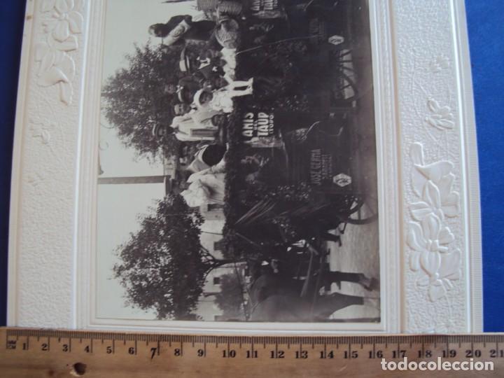 Fotografía antigua: (FOT-190323)FOTOGRAFIA GRAN TAMAÑO CARROZA ANIS TAUP (TOPO) - JOSE GERMA (SABADELL) - Foto 7 - 156520790