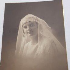 Fotografía antigua: FOTOGRAFÍA 1°COMUNIÓN FINALES 1800. Lote 156682934