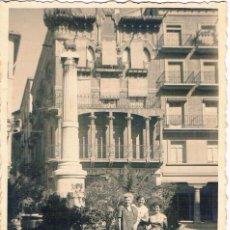 Fotografía antigua: TERUEL. PLAZA DEL TORICO. AÑO 1958. Lote 156703030