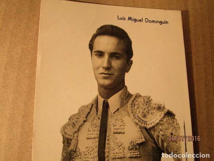 Fotografía antigua: TORERO luis miguel dominguin padre de MIGUEL bose jovencito - Foto 2 - 156738146