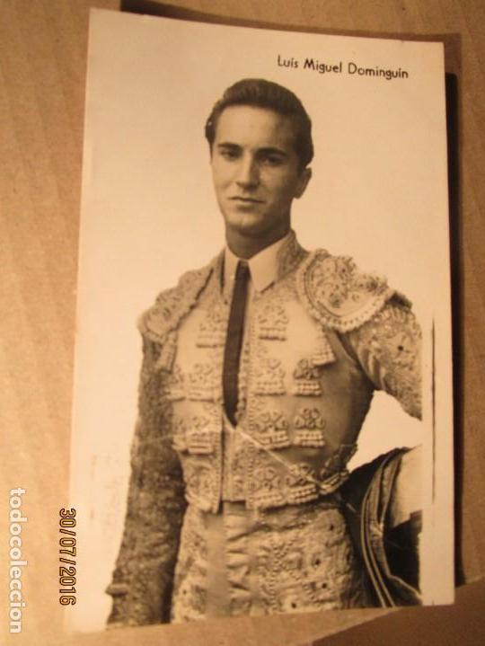 Fotografía antigua: TORERO luis miguel dominguin padre de MIGUEL bose jovencito - Foto 3 - 156738146