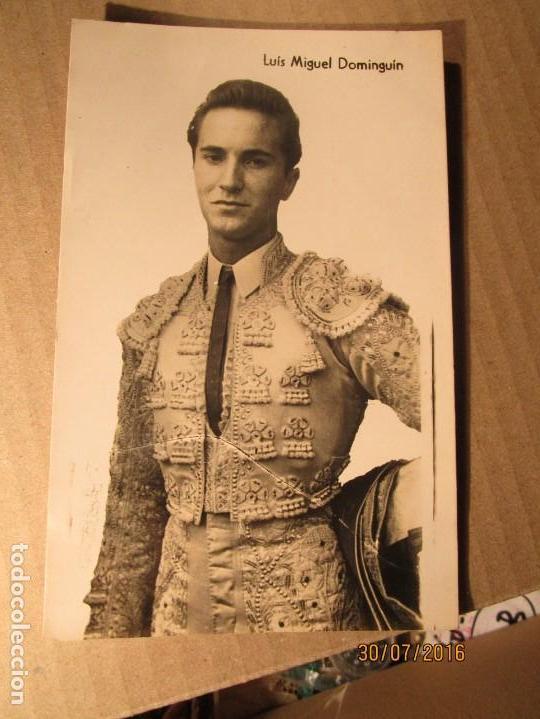 Fotografía antigua: TORERO luis miguel dominguin padre de MIGUEL bose jovencito - Foto 4 - 156738146