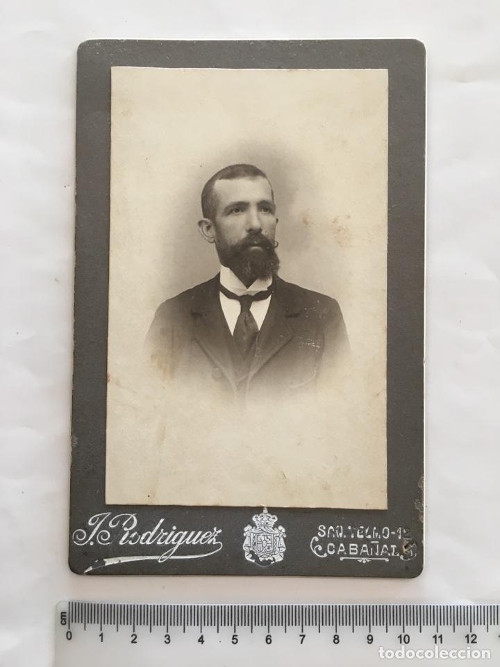 FOTO. CABALLERO. FOTOG. J. RODRÍGUEZ. CABAÑAL (VALENCIA). H. 1900 (Fotografía - Artística)