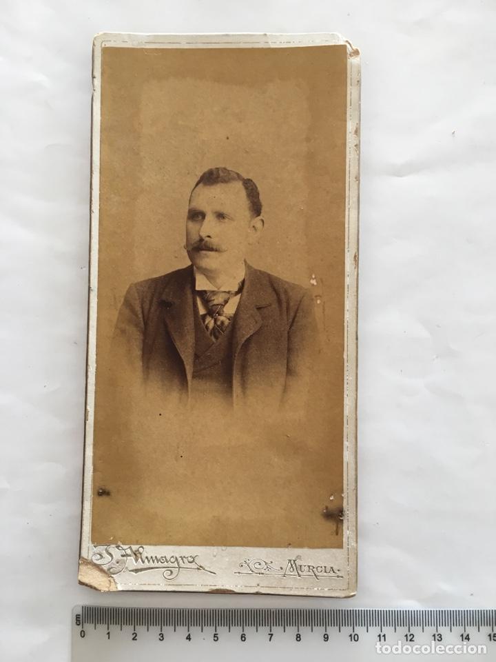 FOTO ALBUMINA. SALVADOR. FOTOG. J. ALMAGRO. MURCIA. H. 1890. (Fotografía - Artística)