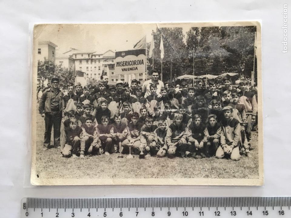 FOTO. NIÑOS MISERICORDIA DE VALENCIA EN PAMPLONA. FOTO GOMEZ. PAMPLONA. H. 1960 (Fotografie - Künstlerische Fotografien)