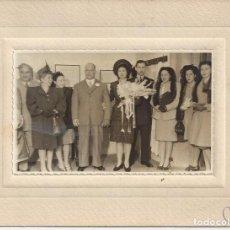Fotografía antigua: FOTOGRAFIA BODA AÑOS 50. M. COLLINA. Lote 156896938