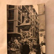 Fotografía antigua: FALLAS VALENCIA. FALLA RIPALDA - SOGUEROS. ARTISTA: DAVID CORTES . (A.1969). Lote 157127828