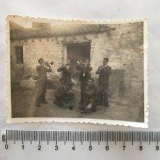 Fotografía antigua: FOTO. ENSAYO DE LA CHARANGA. FOTÓGRAFO ANÓNIMO. H. 1950?. Lote 157216726