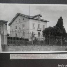 Fotografía antigua: SOMADO (ASTURIAS), LA CASA DE LA GENERALA.. Lote 157267694