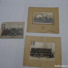 Alte Fotografie - Lote 3 fotografias antiguas militar.regulares.armas - 157709446