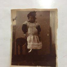 Fotografía antigua: FOTO. RETRATO DE RETRATO. FOTÓGRAFO ANÓNIMO. H. 1910?. Lote 158013057