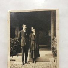FOTO. NOVIOS. FOTÓGRAFO ANÓNIMO. H. 1920?