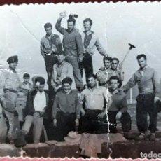 Fotografía antigua: ANTIGUA FOTOGRAFIA. OSSA DE MONTIEL, ALBACETE. TAREAS DEL CAMPO. Lote 158214334
