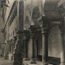 Fotografía antigua: SANT CUGAT DEL VALLÉS. CLAUSTRO 18X24 CM. Lote 158236686