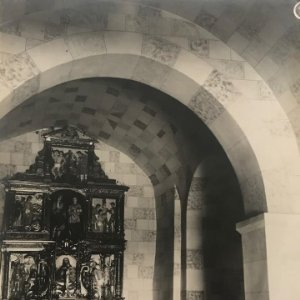 Sant Iscle. Iglesia 18x24 cm