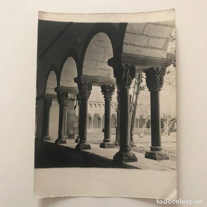 Sant Cugat del Vallés. Claustro 18x24 cm - 158236930
