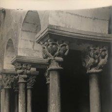 Fotografía antigua: SANT CUGAT DEL VALLÉS. CLAUSTRO 18X24 CM. Lote 158236970
