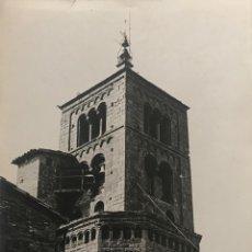 Fotografía antigua: SANTA EUGÈNIA DE BERGA. IGLESIA18X24 CM. Lote 158237178