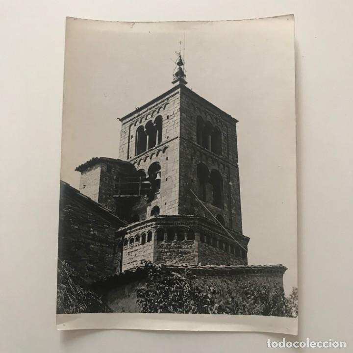 Fotografía antigua: Santa Eugènia de Berga. Iglesia18x24 cm - Foto 2 - 158237178