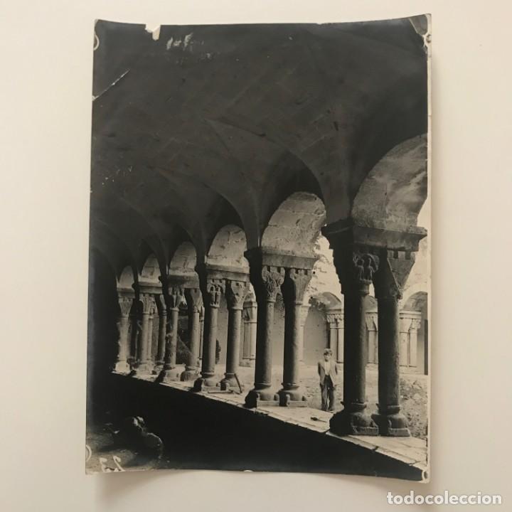 Perelada. Claustro. Conjunto interior galeria 18x24 cm - 158237302