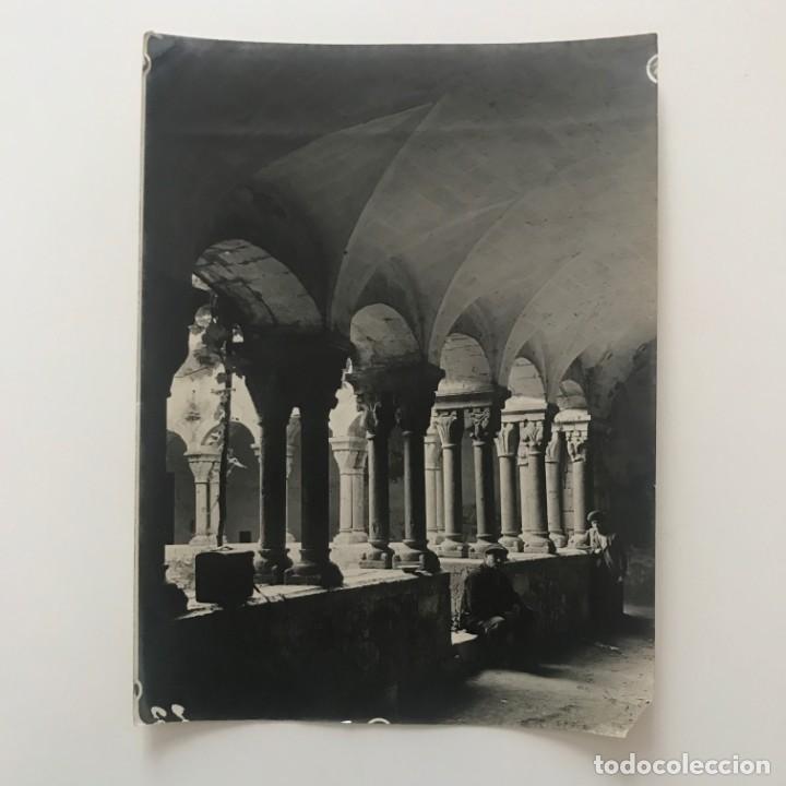 Perelada. Claustro. Conjunto interior y galeria 18x24 cm - 158237542