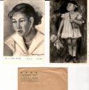 Fotografía antigua: SEIS FOTOGRAFÍAS DE PINTURA JAPONESA - TAKABAYASHI PHOTO - AÑOS 1960. Lote 158660042