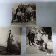 Fotografía antigua: LOTE 3 FOTOGRAFÍAS ANTIGUAS. Lote 159233866