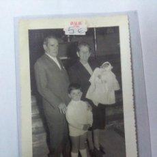 Fotografía antigua: ANTIGUA FOTOGRAFÍA FAMILIAR. Lote 159235502