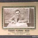 Fotografía antigua: FOTOGRAFÍA. VALENCIA. COLEGIO ACADEMIA BOIX. AQUELLAS ESCUELAS NACIONALES...(H.1950?). Lote 159280021