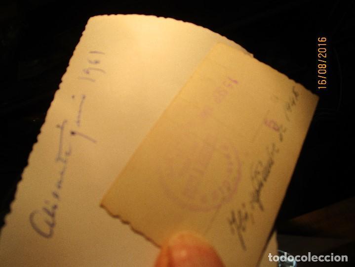 Fotografía antigua: ALICANTE 1948 1961 FUTBOL EQUIPO FALANGE ACADEMIA ONESIMO REDONDO MANDOS INSTRUCTORES - Foto 3 - 159315138