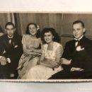Fotografía antigua: FOTOGRAFÍA ORIGINAL. MADRID. FIESTA EN SOCIEDAD. ORIGINAL: DICIEMBRE 1949. Lote 159453977