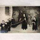 Fotografía antigua: ALCUDIA DE CARLET (VALENCIA) FOTOGRAFÍA ANTIGUA. PROCESION DE SEMANA SANTA (H.1940?). Lote 159588684
