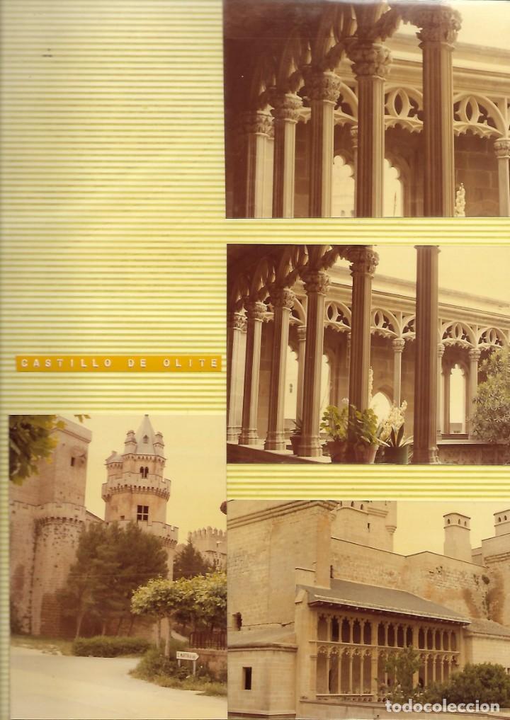 CASTILLO DE OLITE,4 FOTOS, AÑOS 70 (Fotografía - Artística)