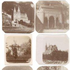Fotografía antigua: SEIS FOTOGRAFÍAS DEL SANTUARIO DEDICADO A LA VIRGEN DE COVADONGA - ASTURIAS - PPIOS. SIGLO XX. Lote 159811178