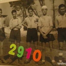 Fotografía antigua: FOTO FOTOGRAFIA CAMPO DE FUTBOL DEL LEVANTE U D ESTADIO VALLEJO AÑOS 40 EQUIPO DE FUTBOL VALENCIA. Lote 159894742