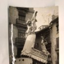 Fotografía antigua: FALLAS. VALENCIA FOTOGRAFÍA FALLAS, DESCONOZCO LA CALLE (H.1960?). Lote 160045424