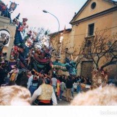 Fotografía antigua: VALENCIA. FALLAS 1994. NA JORDANA. DETALLE. 1ER PREMIO. Lote 160429710