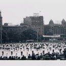 Fotografía antigua: BARCELONA. CONCURSO DE SARDANAS. 1º MAYO 1972. Lote 160579422