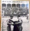 Fotografía antigua: 1934 ALTERNATIVA DE FELIX COLOMO EL REBELDE EN ARANJUEZ - FUNDADOR DE LAS CUEVAS DE LUIS CANDELA. Lote 160627402