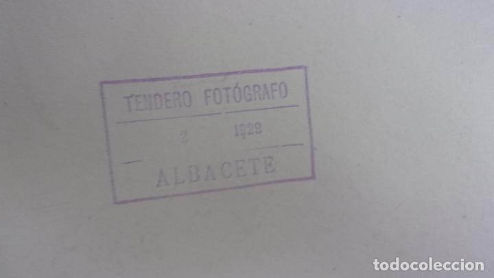 Fotografía antigua: lote 4 fotos Tendero Albacete,años 20 - Foto 7 - 160713730