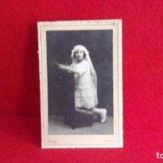 Fotografía antigua: FOTOGRAFIA,BELDA,ALBACETE AÑOS 20. Lote 160714630