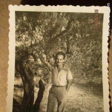 Fotografía antigua: MANDO DE FALANGE ACADEMIA ONESIMO REDONDO EN ALICANTE TORREMANZANAS. Lote 160722766