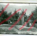 Fotografía antigua: ZARAGOZA MONUMENTO PEREZ AYUE. ANTIGUA FOTOGRAFIA ORIGINAL. AÑOS 70. 13 X 18 CM. Lote 160832462