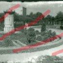 Fotografía antigua: ZARAGOZA PARQUE DEL CABEZO. ZENOTAFIO DE GOYA ANTIGUA FOTOGRAFIA ORIGINAL. AÑOS 70. 13 X 18 CM. Lote 160832910